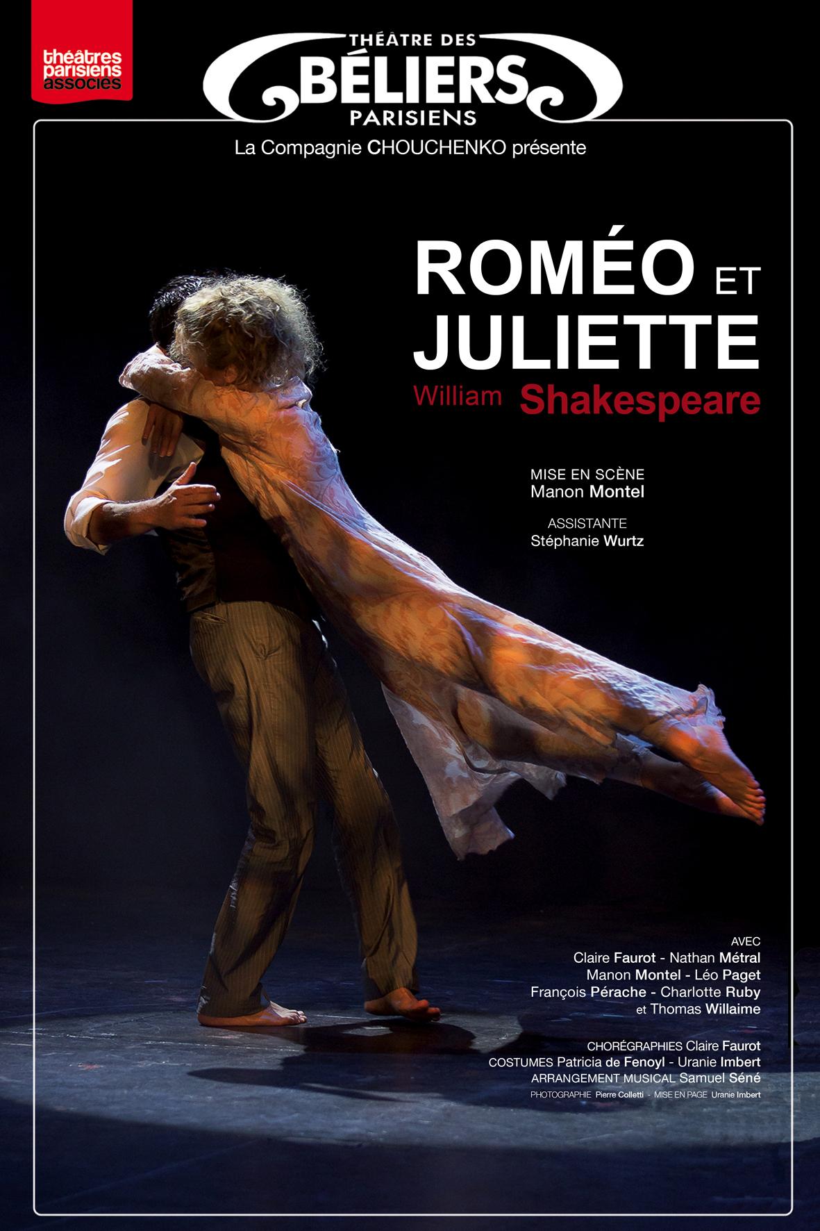 Rom 233 O Et Juliette Th 233 226 Tre Des B 233 Liers Parisiens